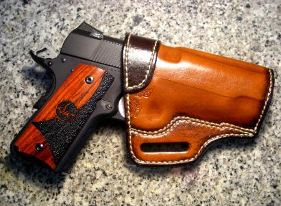 custom leather holsters, 1911 holsters, concealed carry holsters