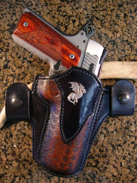 Dragon's Breath concealment holster, best 1911 holster
